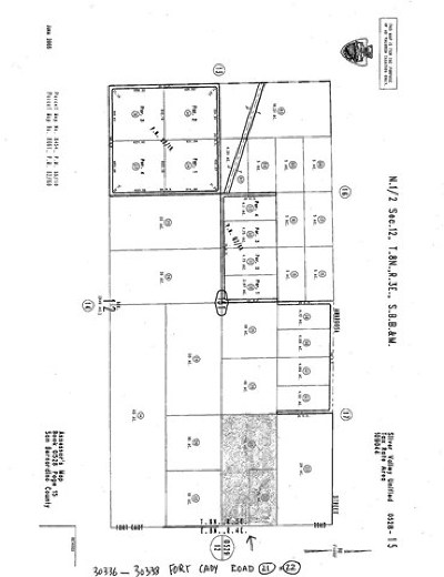 Newberry Springs Residential Lots & Land For Sale: 30338 Fort Cady Road