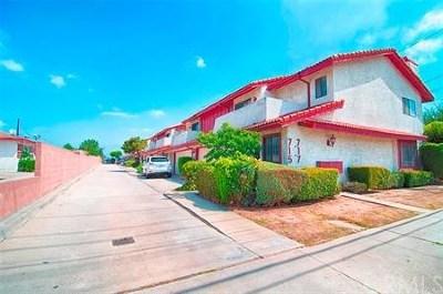Monterey Park Condo/Townhouse For Sale: 717 E. Newmark Ave. #A