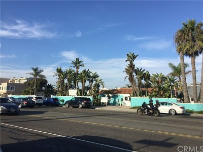 Huntington Beach Commercial For Sale: 16722 Pacific Coast Hwy