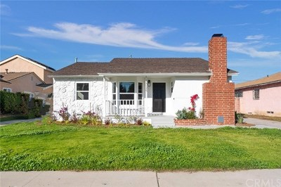 Inglewood Single Family Home For Sale: 3325 W 118th Place