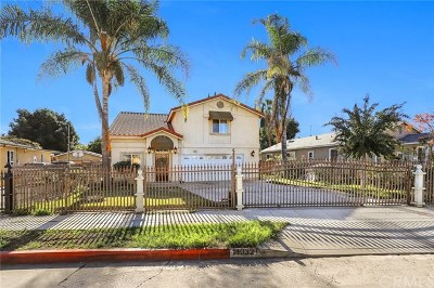 El Monte Single Family Home For Sale: 11032 Kauffman Street
