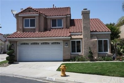 Yorba Linda Rental For Rent: 25595 Triesta Way