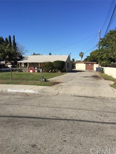 El Monte Multi Family Home For Sale: 2717 Leafdale Avenue