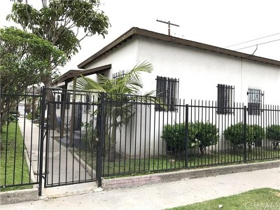 Los Angeles Multi Family Home For Sale: 316 E 79th Street