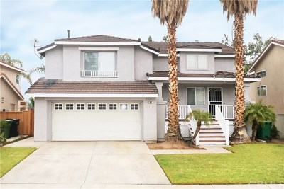 Corona Single Family Home For Sale: 707 View Lane