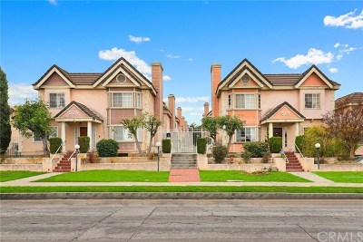 Monterey Park Condo/Townhouse For Sale: 521 Sefton Avenue #E
