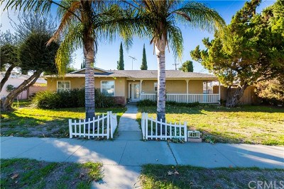 West Covina Single Family Home For Sale: 421 S Hollenbeck Street