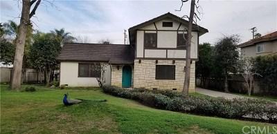 Pasadena Single Family Home For Sale: 610 Woodward Boulevard