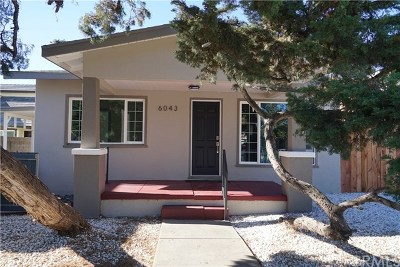 Temple City Single Family Home For Sale: 6043 Golden West Avenue