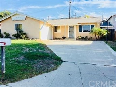 Rowland Heights Single Family Home For Sale: 2711 Plano Drive