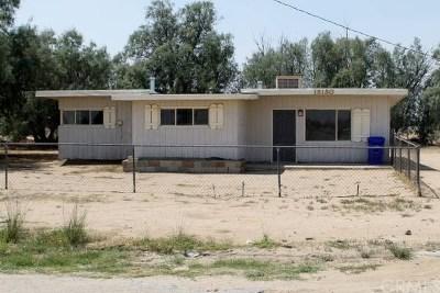 Adelanto Single Family Home For Sale: 18180 Delicious Street