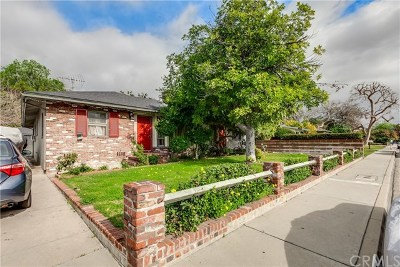 Monrovia Single Family Home For Sale: 233 Montana Street