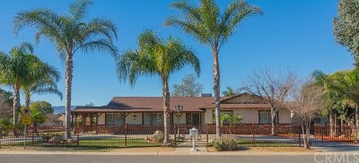 Norco Single Family Home For Sale: 3700 Alhambra Street