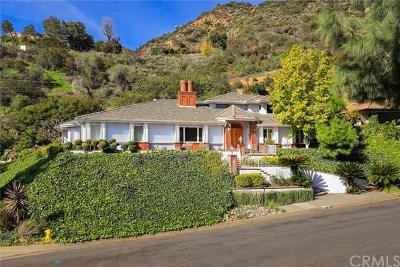 Arcadia Single Family Home For Sale: 2257 Highland Vista Drive