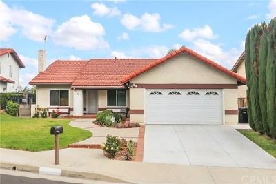Diamond Bar Single Family Home For Sale: 21009 Glenwold Drive
