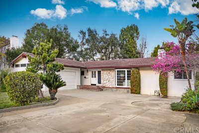 San Marino Single Family Home For Sale: 1660 West Drive