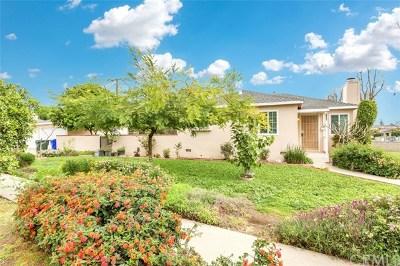 Arcadia Single Family Home For Sale: 2922 Mayflower Avenue