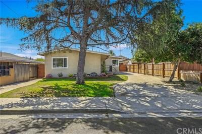 Orange Multi Family Home For Sale: 18622 E Vine Avenue