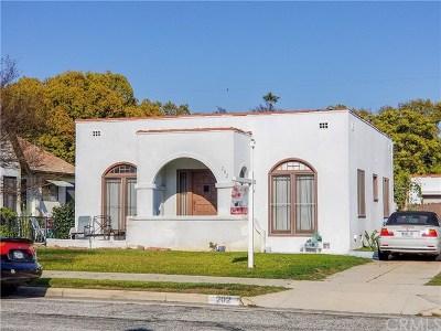 San Gabriel Single Family Home For Sale: 202 Segovia Avenue