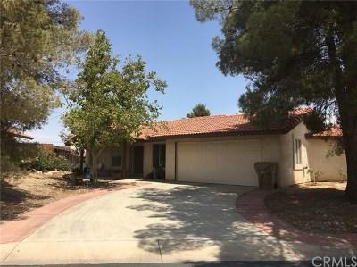 Hesperia Single Family Home For Sale: 14396 Riverside Street
