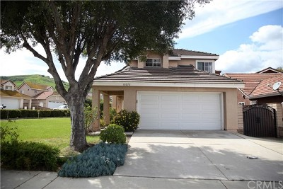 Chino Hills Single Family Home For Sale: 18070 Lariat Drive