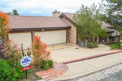 Pasadena Single Family Home For Sale: 324 Patrician Way