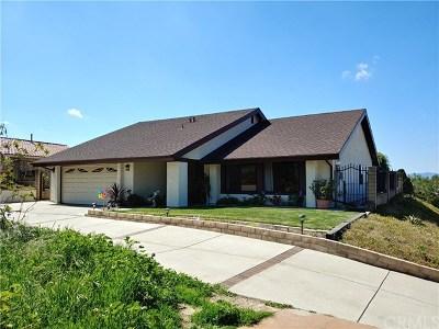 Walnut Single Family Home For Sale: 322 Camino De Teodoro