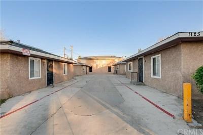 San Bernardino Multi Family Home For Sale: 1123 Bobbett Drive