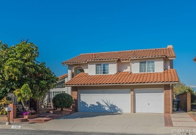 Rowland Heights Single Family Home For Sale: 17925 Calle Barcelona