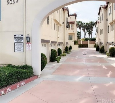 San Gabriel Condo/Townhouse For Sale: 503 Anderson Way #F