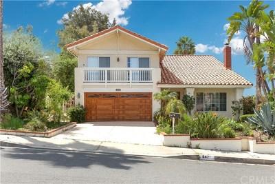 Diamond Bar Single Family Home For Sale: 847 Golden Prados Drive