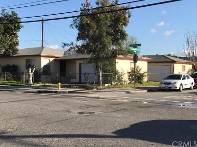 South El Monte Multi Family Home For Sale: 2346 Continental Avenue