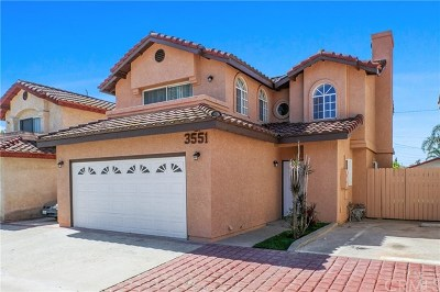 El Monte Single Family Home For Sale: 3551 Cogswell Road