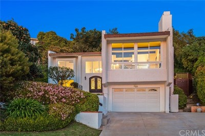 Palos Verdes Estates, Rancho Palos Verdes, Rolling Hills Estates Single Family Home For Sale: 30168 Avenida Tranquila