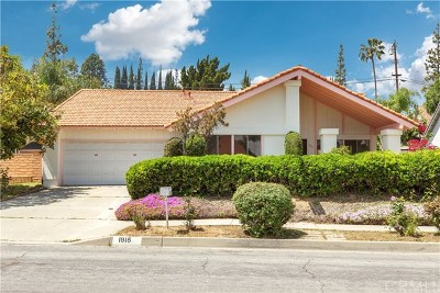 Hacienda Heights Single Family Home For Sale: 1915 Paso Verde Drive