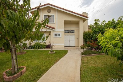 Temple City Single Family Home For Sale: 10952 Freer Street