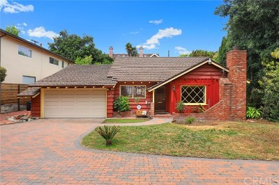 San Marino Single Family Home For Sale: 2225 S Los Robles Avenue
