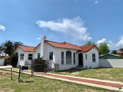 West Covina Single Family Home Active Under Contract: 611 N Vincent Avenue
