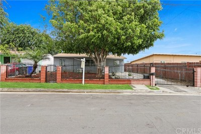Duarte Single Family Home For Sale: 2058 Goodall Avenue