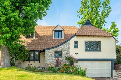 San Gabriel Single Family Home For Sale: 1021 W Roses Road