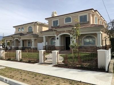 Monterey Park Condo/Townhouse For Sale: 306 S Alhambra Avenue