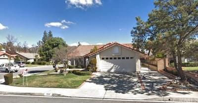 Walnut Single Family Home For Sale: 1358 Marquette Drive