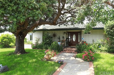Bradbury Single Family Home For Sale: 351 Spinks Canyon Road