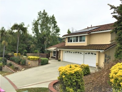 West Covina Single Family Home For Sale: 3142 E Hillside Drive
