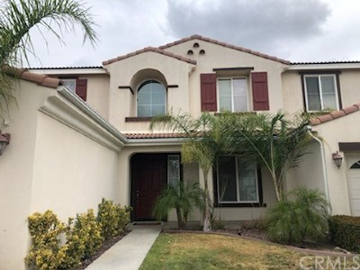 Corona Single Family Home For Sale: 13896 Glover Court