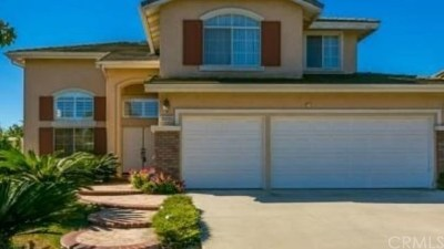 Chino Hills Single Family Home For Sale: 15055 Avenida Compadres