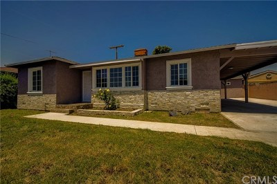 Whittier Single Family Home For Sale: 14071 Lanning Drive