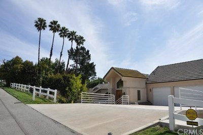 Diamond Bar Single Family Home Active Under Contract: 2219 Rusty Pump Road