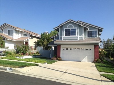 Rancho Cucamonga Single Family Home For Sale: 6235 Brandy Place