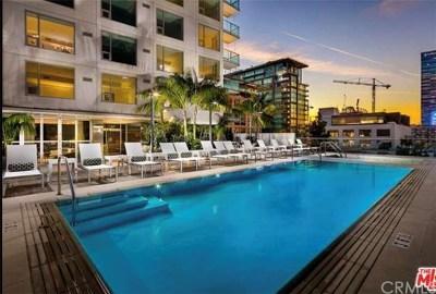 Los Angeles Condo/Townhouse For Sale: 1050 S Grand Avenue #705